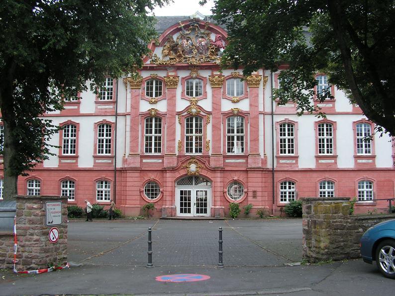 Prüm, Abtei, Nordflügel