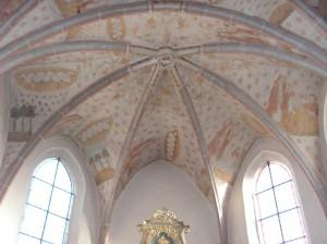 Bleialf, Kirche, Apsisfresken