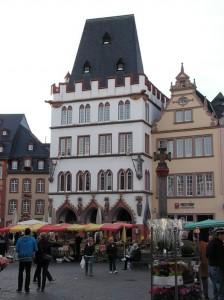 Trier, Marktplatz, Steipe